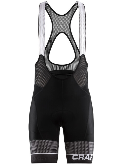 Craft Route Bib Shorts Men Black/White